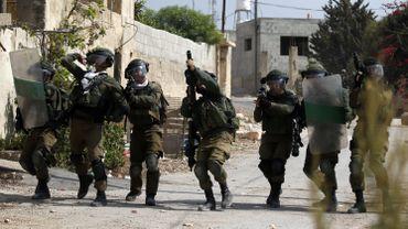 Des soldats israéliens en Cisjordanie