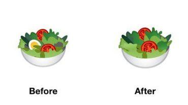 Pendant ce temps, chez Google, l'émoji salade devient végane
