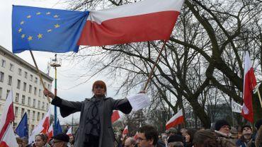 Une manifestation anti-gouvernement le 19 décembre dernier à Varsovie.