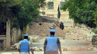Des observateurs de l'ONU en mission en Syrie