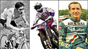 Les trois plus grands sportifs belges