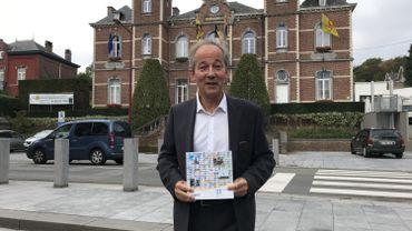 Le premier échevin Cédric du Monceau (Avenir-cdH) se voyait bourgmestre, il n'a pas réussi son pari, même si sa liste a bien progressé en 2018.
