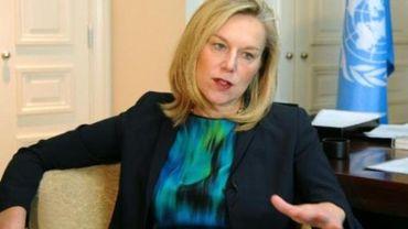 Sigrid Kaag coordonne l'opération conjointe de désarmement ONU-OIAC (Organisation pour l'interdiction des armes chimiques) en Syrie