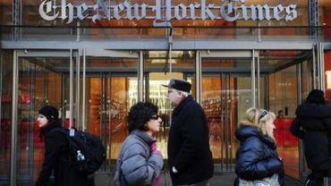 Bureau du New York Times