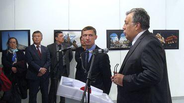 Andreï Karlov, l'ambassadeur de Russie en Turquie, a été assassiné lundi à Ankara par un policier turc.