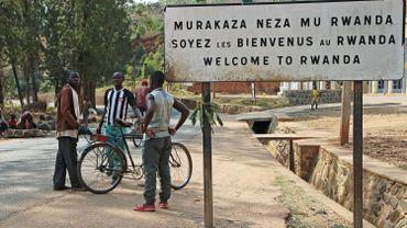 Frontière entre le Rwanda et le Burundi à Akanyaru, en 2016