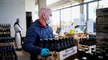 Près de 80.000 inscrits en un an sur le site de vente en ligne de bière des moines de Westvleteren