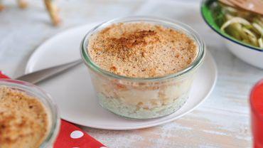 Mini-Parmentier de panais-volaille et salade de fenouil