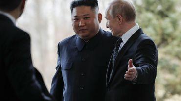 """Sommet Kim-Poutine: """"Ca complique la donne pour les Etats-Unis"""""""