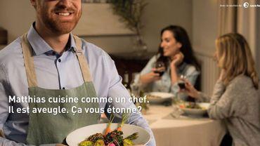 Cuisiner comme un chef quand on est aveugle, c'est possible