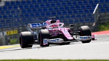 Pérez le plus rapide des essais libres 1 du GP de Styrie