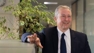 Philippe Lallemand est membre du comité de direction d'Ethias, en charge des relations avec les gestionnaires locaux et les entreprises.
