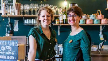 Les 2 fondatrices du Boentje Café, Sandrine Belgrado et Victoria Lavenne