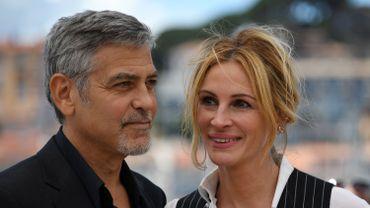 George Clooney et Julia Roberts à Cannes le 12 mai 2016