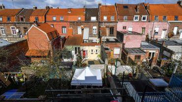 Un quartier de Roubaix où sont vendues des maisons à 1 euro, le 20 mars 2018