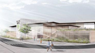 Initialement, la nouvelle piscine de Wavre devait être construite à côté du nouveau centre culturel, mais le projet a été relocalisé à un jet de pierre, sur deux parcelles acquises récemment par la ville.