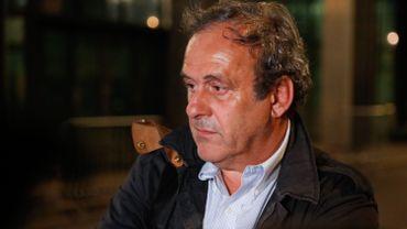 Platini réclame à l'UEFA le paiement d'arriérés de salaire, de frais d'avocats et d'un bonus