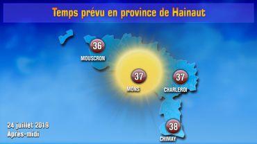 1fd7fe10c3 Vague de chaleur: l'ouest du Hainaut sera plus épargné ce mercredi
