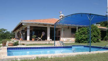 La villa où le couple belge a été retrouvé en 2010