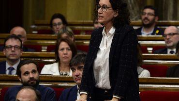 """Catalogne: l'indépendantiste Marta Rovira ignore sa convocation judiciaire et annonce son """"exil"""""""