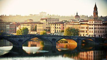 Florence dans la matinée, Italie
