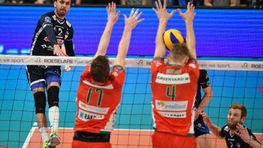 EuroMillions Volley League - Maaseik remporte le choc contre Roulers