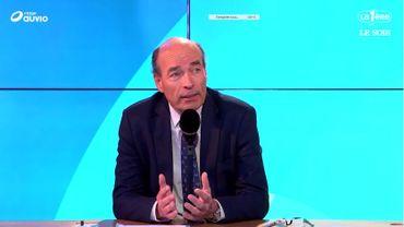 Olivier de Wasseige a pris la succession de Vincent Reuter à la tête de l'Union wallonne des entreprises (UWE).