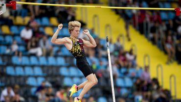Titre européen pour Ben Broeders à la perche à l'Euro Espoirs d'athlétisme