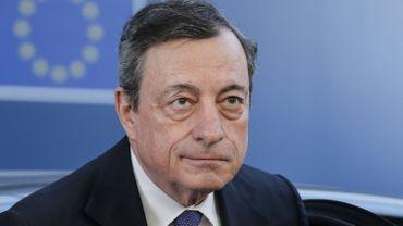 """Mario Draghi: """"le secteur financier devrait continuer de se préparer à toutes les éventualités""""."""