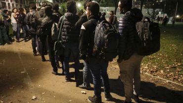 Des objectifs chiffrés d'arrestation de migrants au parc Maximilien