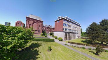 Vue du Collège Providence Herve