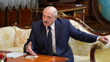"""Si la Biélorussie tombe, la prochaine sera la Russie"", affirme Loukachenko"