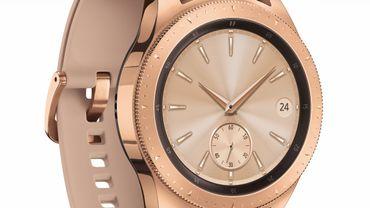Samsung Galaxy Watch. Le prochain modèle pourrait perdre son cadran rotatif.