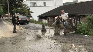 Une maison de repos de Chênée a été traversée par une coulée de boue