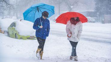 Denver passe de 35° à de la neige en deux jours