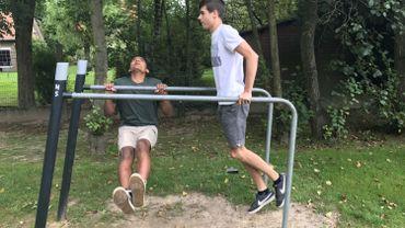 Street Workout : rencontre avec deux hannutois passionnés par ce sport de rue