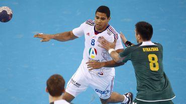 Narcisse et Nascimento joueur et joueuse de handball 2012