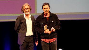 Samuel Benchetrit et Martin Provost lors de la remise du Bayard D'Or