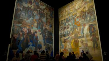 """""""Guerre et Paix"""", l'oeuvre monumentale de Candido Portinari, exposée au Grand Palais"""