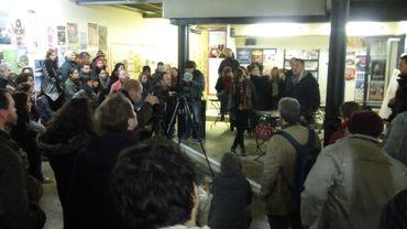 """C'est une décision totalement anti-démocratique, a expliqué Gilles Maufroy, un des organisateurs. Il (le bourgmestre) justifie cette interdiction par le niveau de sécurité relevé"""""""