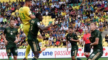 Engels et Foket titulaires lors du nul de Reims à Nantes, Limbombe joue 5 minutes