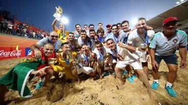Le Portugal champion du monde de beachsoccer pour la 3e fois