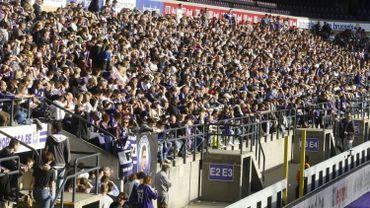 La CBAS inflige une amende avec sursis à Anderlecht pour chants discriminatoires