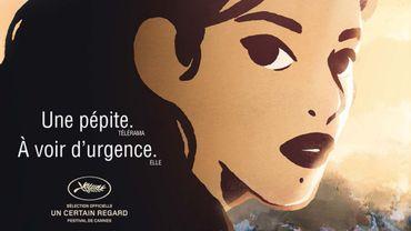 """L'affiche des """"Hirondelles de Kaboul"""""""