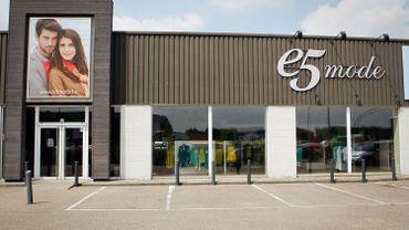 Le groupee5 mode se retire de Wallonie, 12 magasins vont fermer, 41 emplois en danger