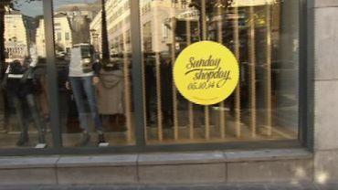 Boycott du Sunday Shopday: les syndicats sensibilisent les Liégeois et interpellent les autorités