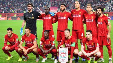 L'équipe de Liverpool