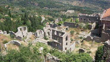 Excursion à Mystras, la ville fantôme