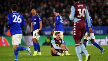 Le Leicester de Tielemans et Praet, accroché par Villa, se complique la tâche en League Cup