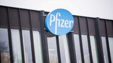 Un site de production de Pfizer